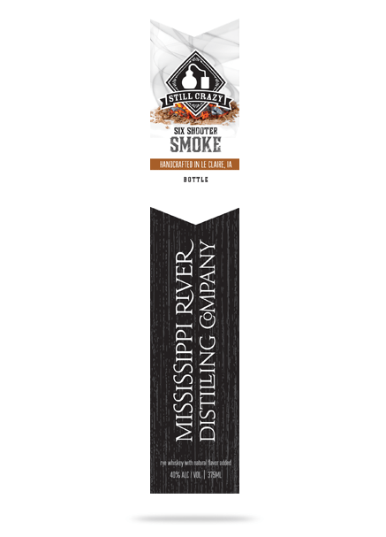 Six Shooter Smoke Whiskey bottle