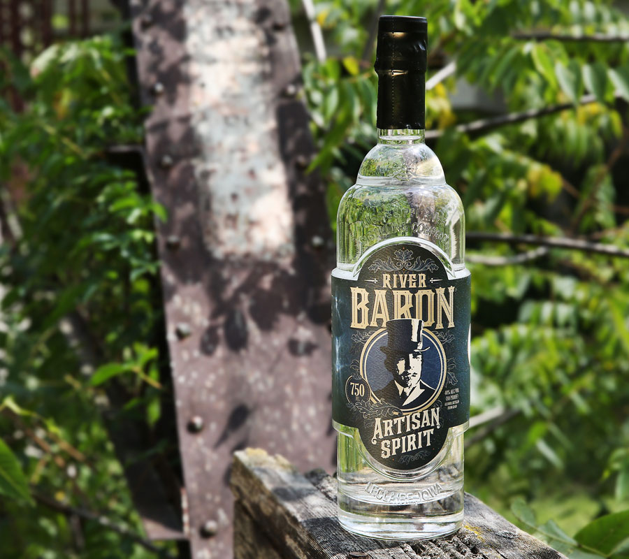 River Baron Artisan Spirit bottle