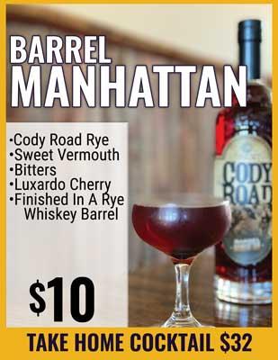 Barrel Manhattan
