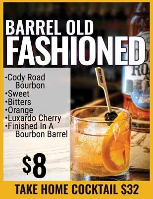 Barrel Old Fashioned