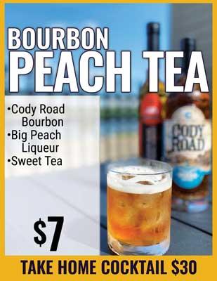 Bourbon Peach Tea