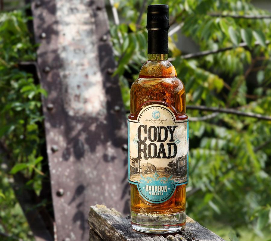 Cody Road Bourbon Whiskey bottle