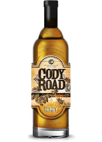 Cody Road Honey bottle