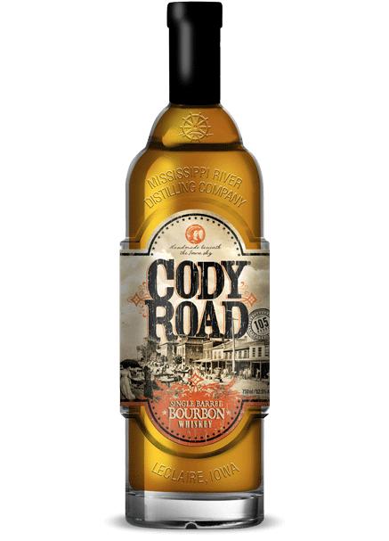Cody Road Single Barrel Bourbon bottle