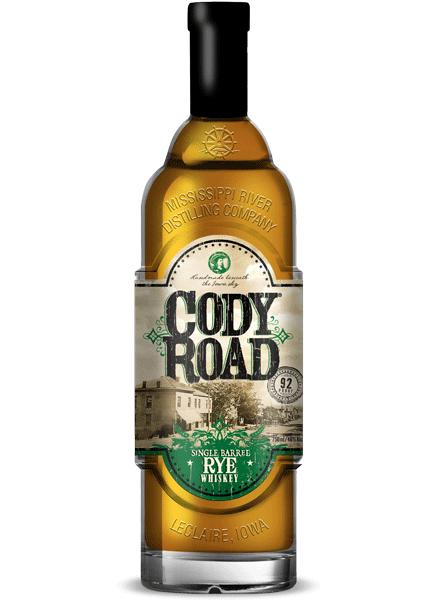 Cody Road Single Barrel Rye bottle
