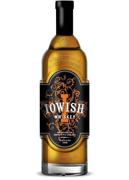 Iowish Whiskey bottle