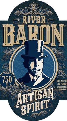 River Baron Artisan Spirit label
