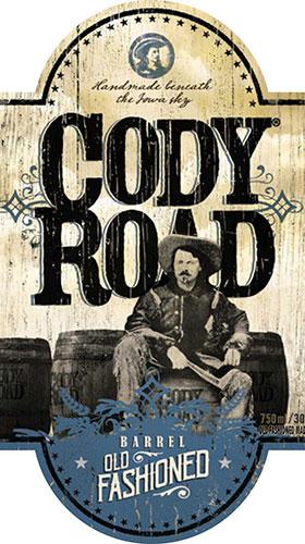 Cody Road Barrel Old Fashioned label