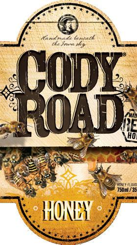 Cody Road Honey label