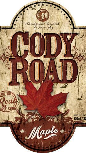 Cody Road Maple label