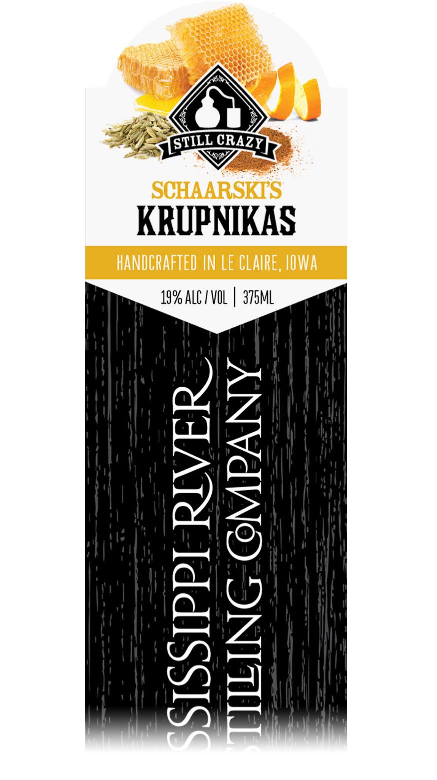 Schaarski's Krupnikas label