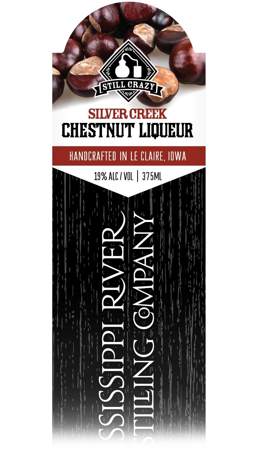 Silver Creek Chestnut Liqueur label