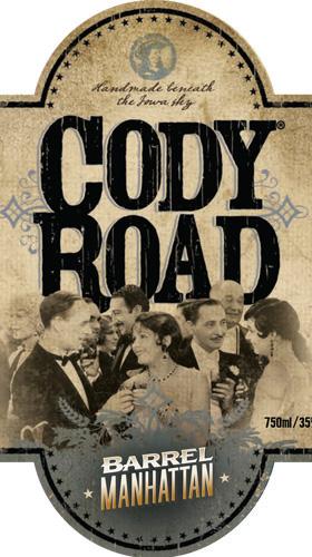 Cody Road Barrel Manhattan label