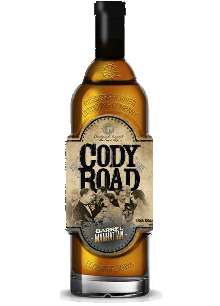 Cody Road Barrel Manhattan bottle