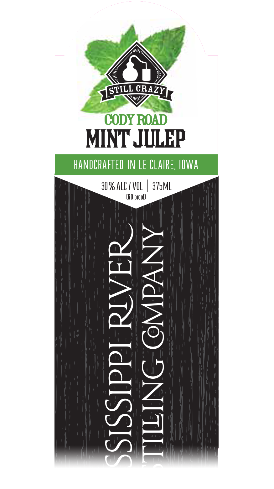 Cody Road Mint Julep label