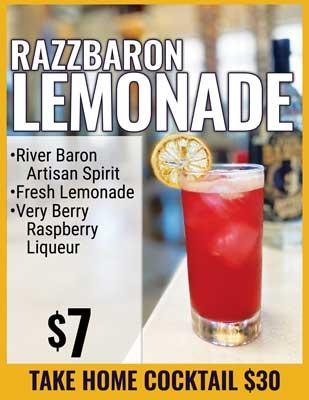 Razzbaron Lemonade