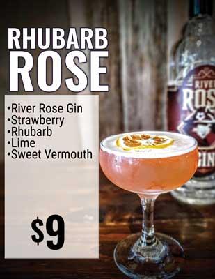Rhubarb Rose
