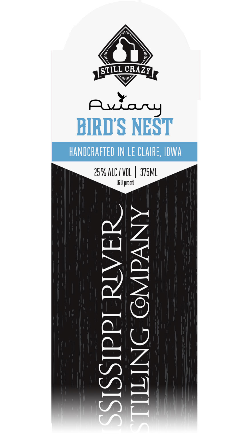 Aviary Limited Edition Barreled Cocktails label