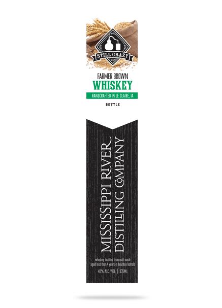 Farmer Brown Whiskey bottle